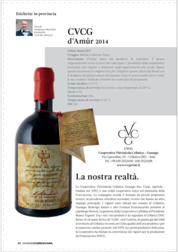 Vini e Cucina Bresciana N.94 Ott 2020